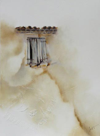 contemporary french artists - Doro.T - Old Window