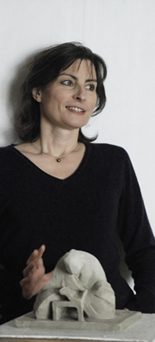 contemporary french sculptor Pascale Camy