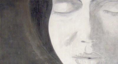 contemporary french artists : Hazlo - Fresco Portrait